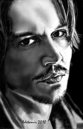 Johnny Depp par adetomir